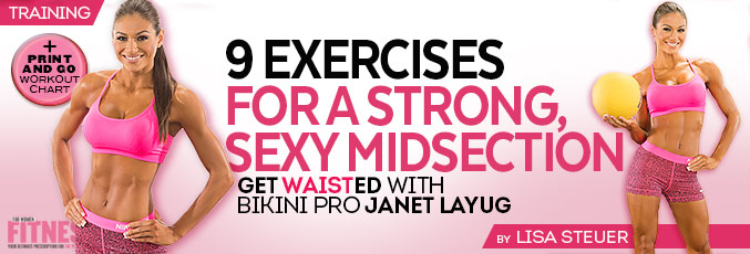 Get Waisted with Bikini Pro Janet Layug