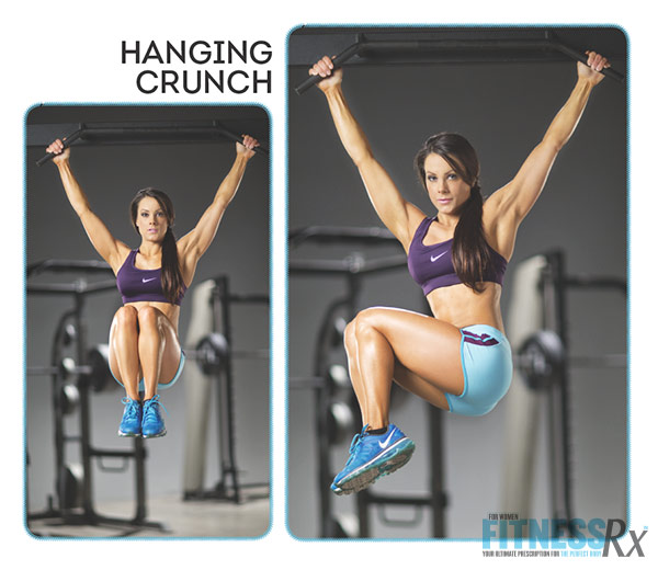 Sculpted Summer Abs With IFBB Pro Jessica Renee - Hanging Crunches
