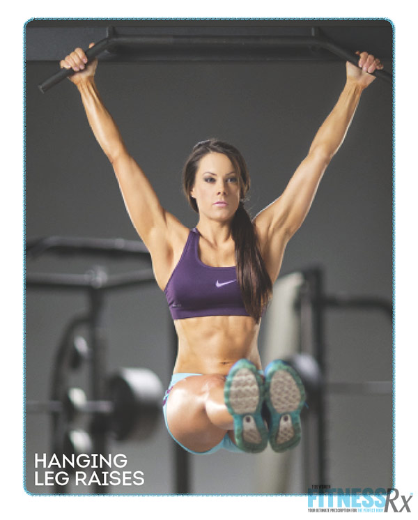Sculpted Summer Abs With IFBB Pro Jessica Renee - Hanging Leg Raises