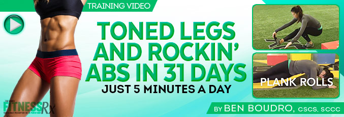 Toned Legs And Rockin' Abs In 31 Days