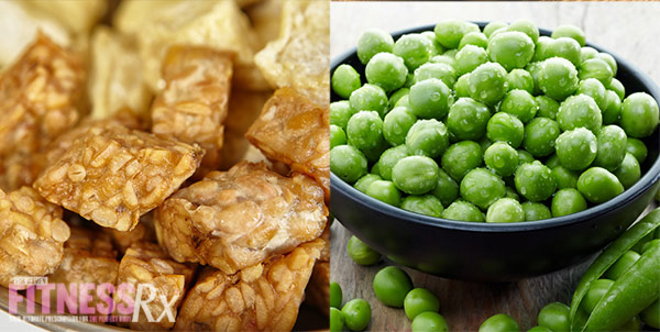 12 Superfoods For A Super You - Tempeh and Green Peas