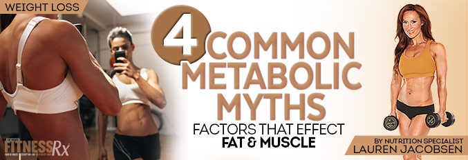 4 Common Metabolic Myths