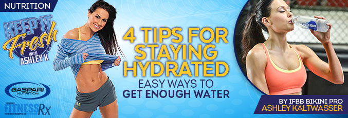 8 Tips for Staying Hydrated