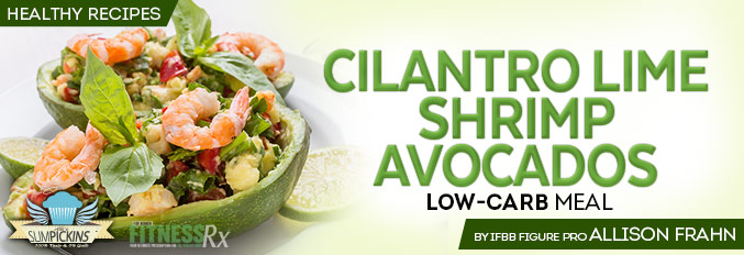 Cilantro Lime Shrimp Avocados