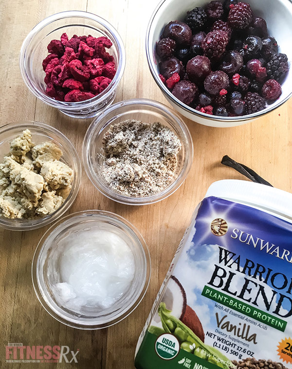 Fudgy Berry Protein Bars