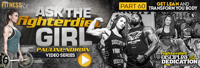 Ask The Fighter Diet Girl Pauline Nordin – Video 60