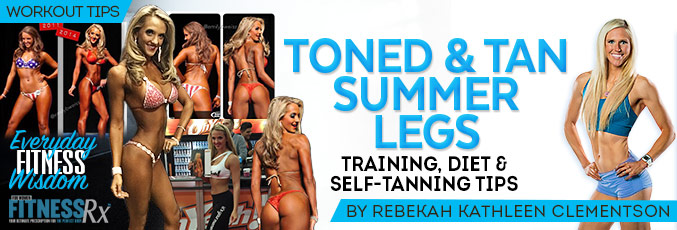 Toned & Tan Summer Legs