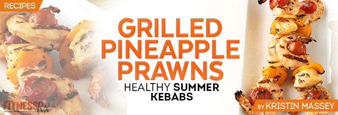 Grilled Pineapple Prawns