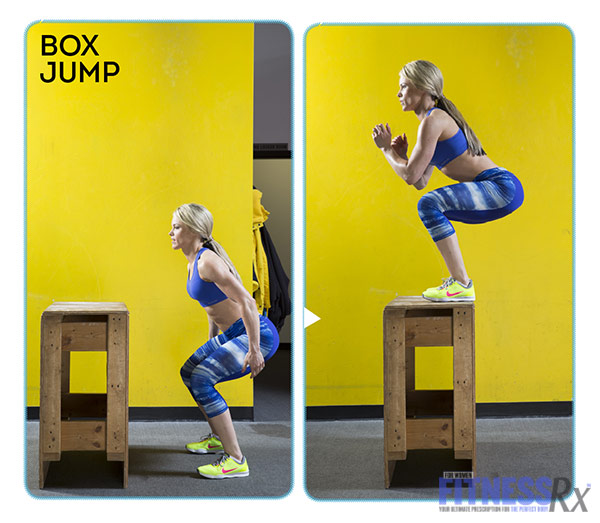 High-Intensity 4-Week Transformation Plan - Explosive Training With Justine Munro - Box Jump