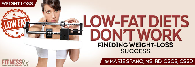 Low-fat Diets Don't Work
