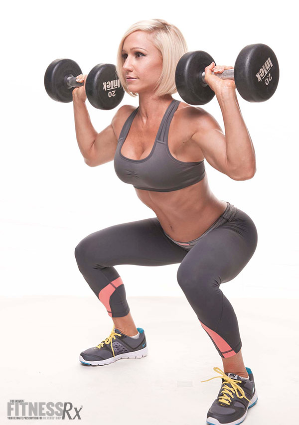 Smarter Squats for Toned Glutes