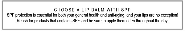 Let's Talk SPF for Lips