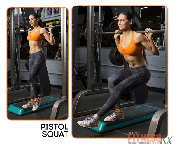 Become A Glute-Smith - Pistol Squat