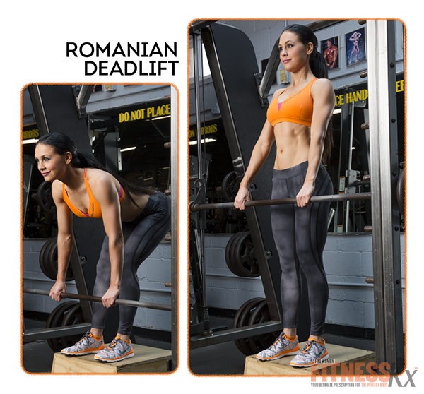 Become A Glute-Smith - Romanian Deadlift