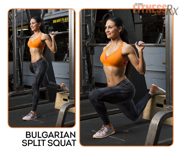 Become A Glute-Smith - Bulgarian Split Squat