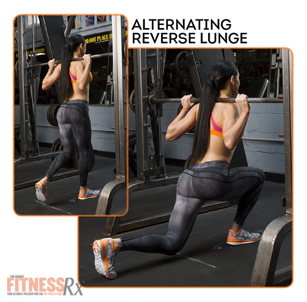 Become A Glute-Smith - Alternating Reverse Lunge