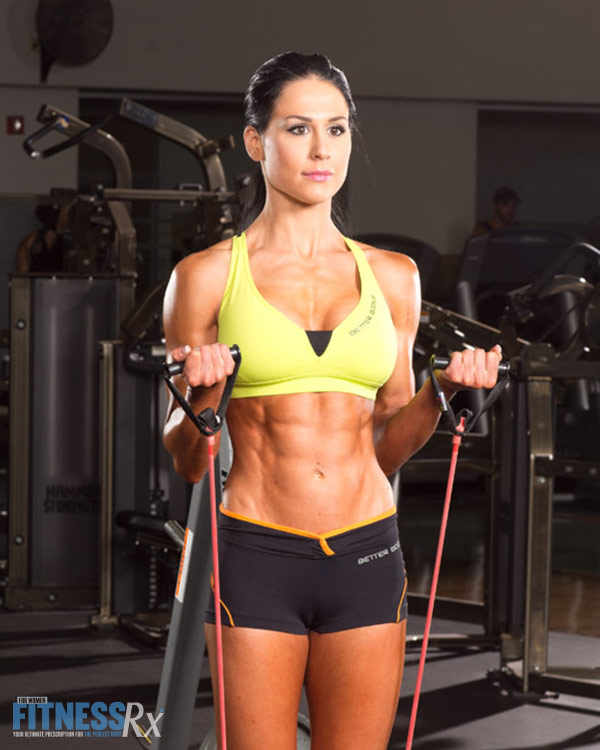 Upper Body Resistance Band Circuit