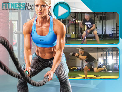 Get Lean With This Battle Rope Workout