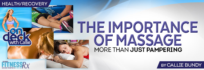 The Importance of Massages