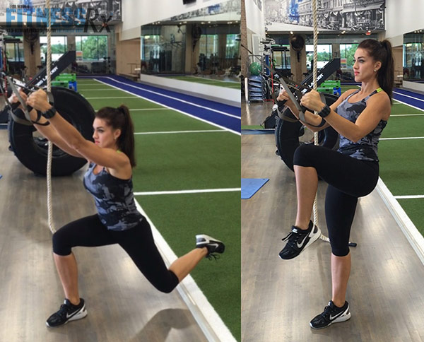 Fit Fast TRX - Air lunge