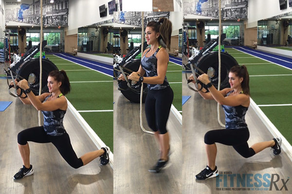 Fit Fast TRX - Switch lunge