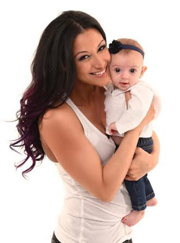 Super Fit New Mom - IFBB Pro Christina Vargas