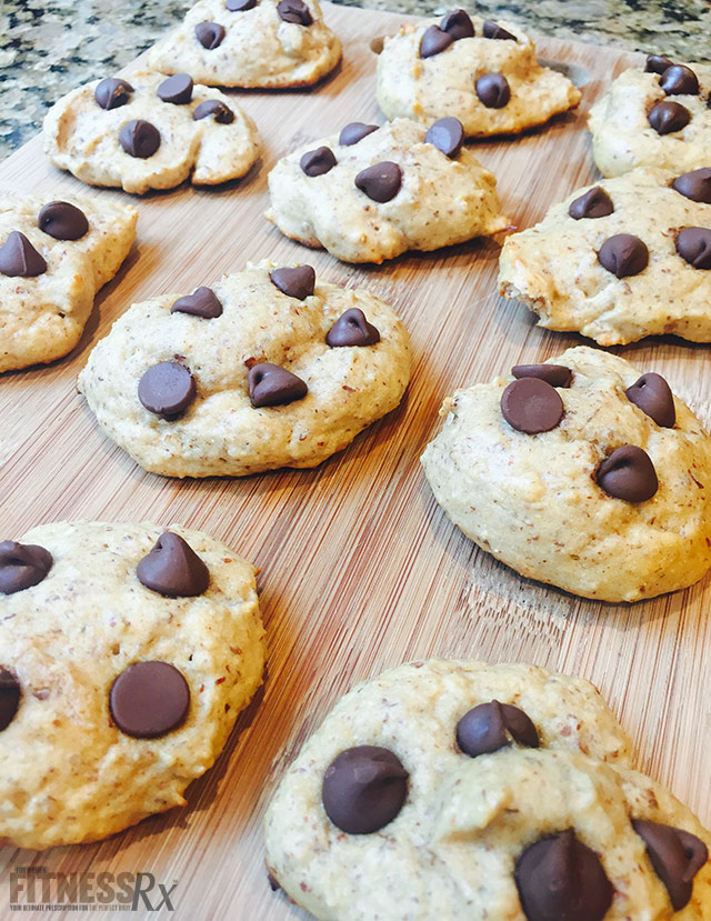 Bikini Body Chocolate Chip Cookies
