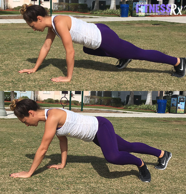 Outdoor Cardio and Bodyweight Circuit - Alligator Crawl