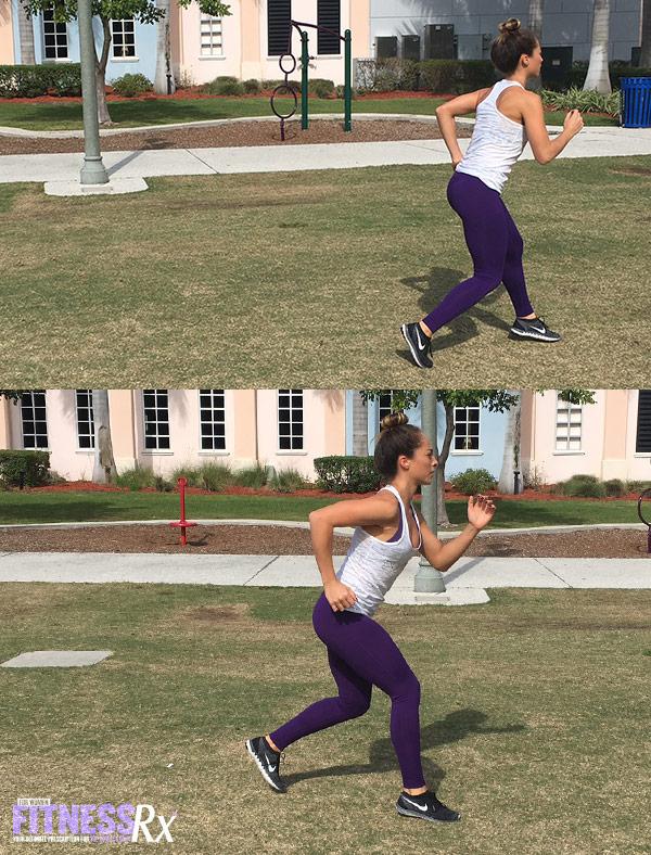 Outdoor Cardio and Bodyweight Circuit - Backward Run