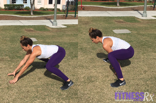 Outdoor Cardio and Bodyweight Circuit - Rabbits
