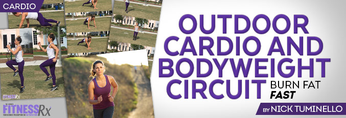 Outdoor Cardio and Bodyweight Circuit