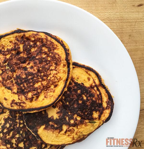 Savory Sweet Potato Pancakes