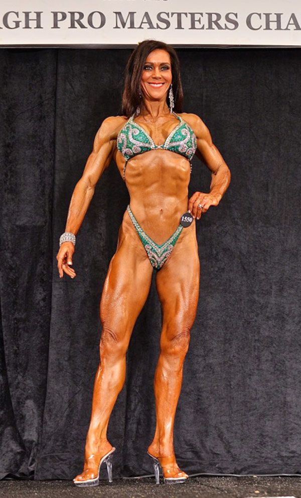 do ifbb figure competitors use steroids