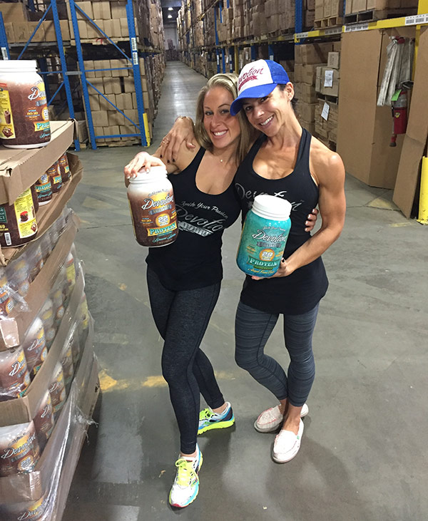 The Devoted Life - IFBB Pro Gina Aliotti and Dana Kaye