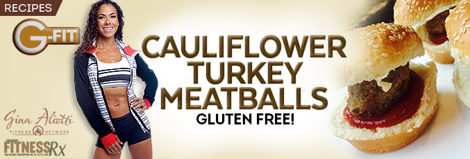 Cauliflower Turkey Meatballs