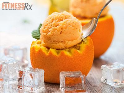 Orange Creamsicle Froyo