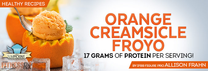 Orange Creamsicle Froyo