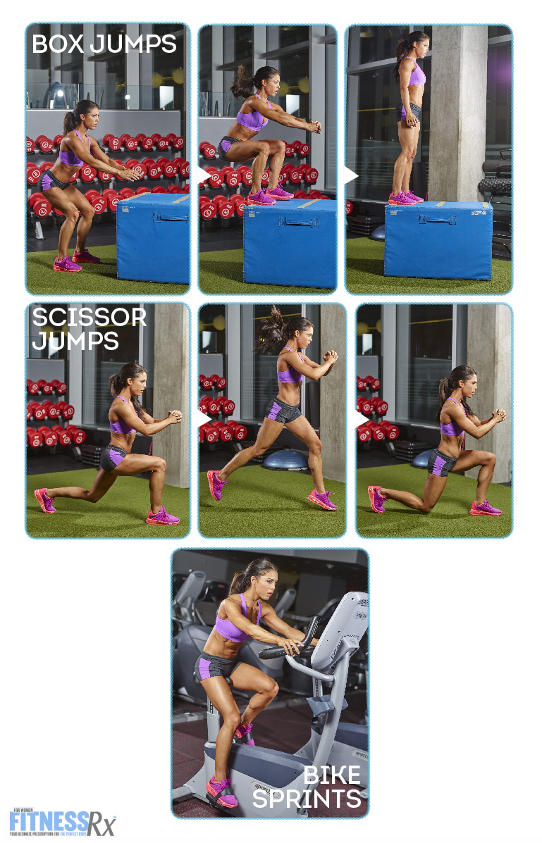 Tight and Toned Abs and Glutes With IFBB Bikini Pro Anya Ells - HIIT Circuit