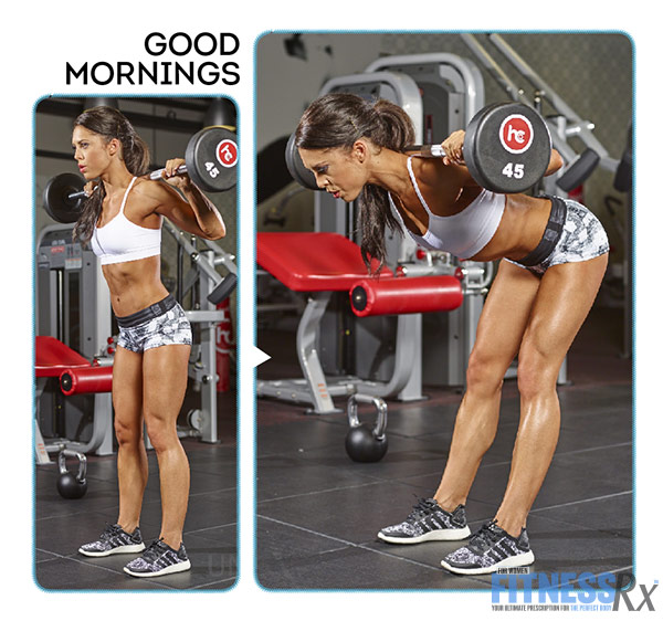 Tight and Toned Abs and Glutes With IFBB Bikini Pro Anya Ells - Good Mornings