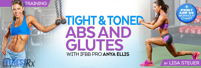 Tight and Toned Abs and Glutes With IFBB Bikini Pro Anya Ells