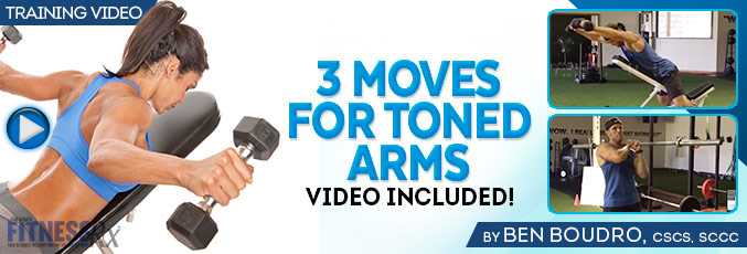3 Moves For Toned Arms