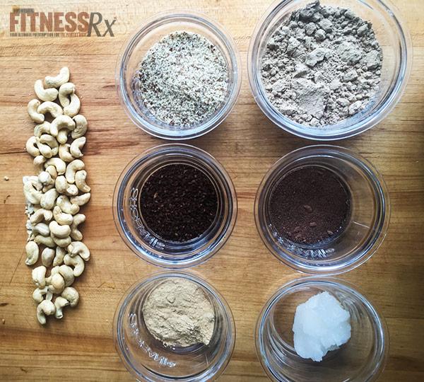 Mocha Energy Protein Truffles