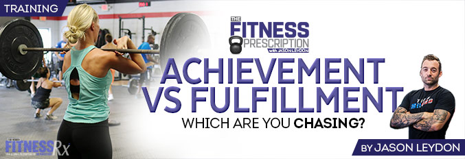 Achievement vs. Fulfillment