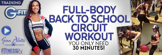 Full-Body Back To School Workout