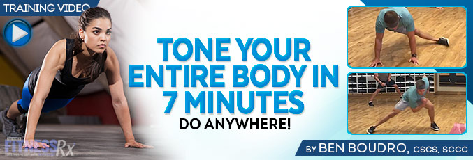 Tone Your Entire Body In 7 Minutes
