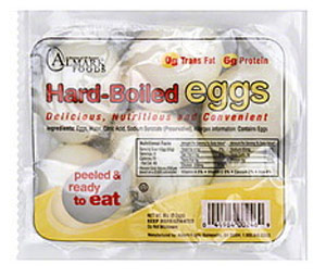 Pre-Made Hardboiled Eggs