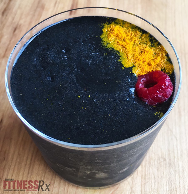 Charcoal Berry Detox Smoothie