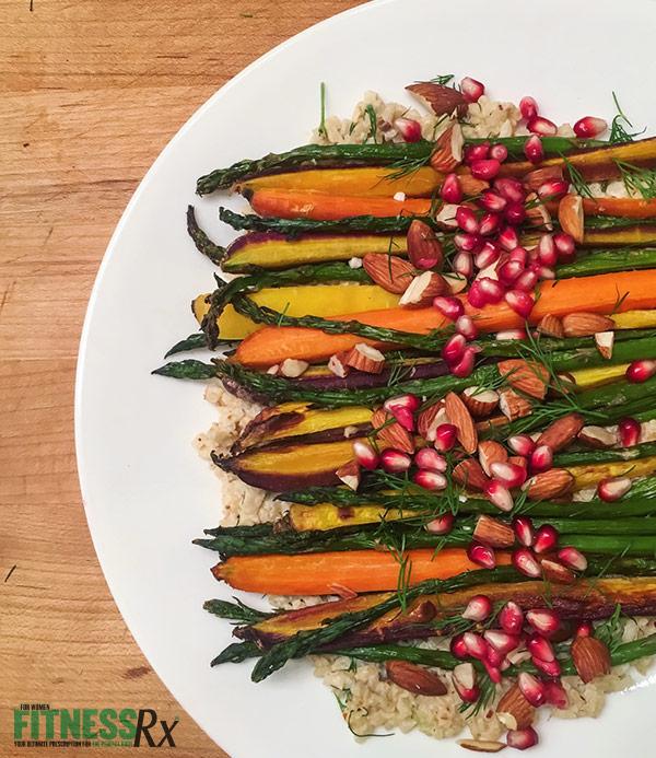 Rainbow Veggie Plate
