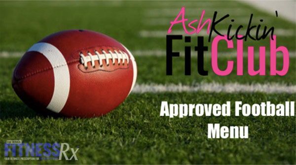 AKFC Approved Football Menu