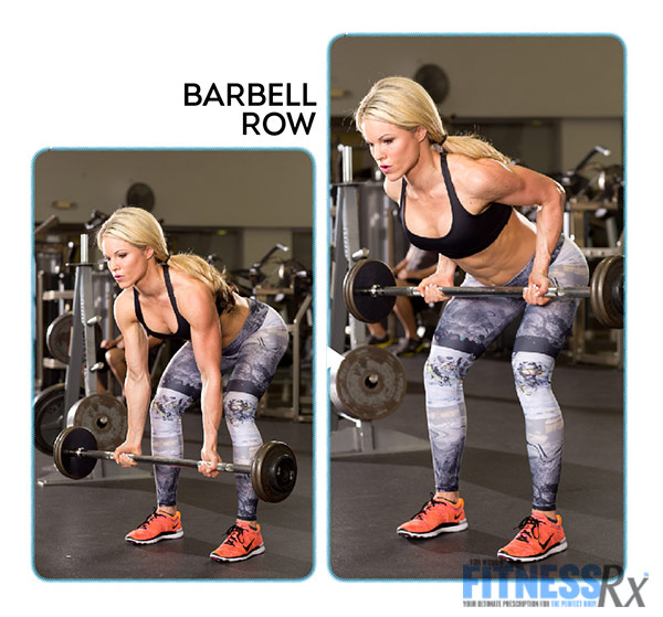 Get Sculpted and Lean with Ropes and Resistance - With IFBB Bikini Pro Justine Munro - Barbell Row